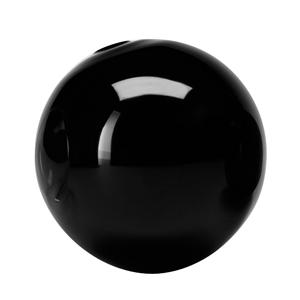 LSA Glass Globes Black 10cm