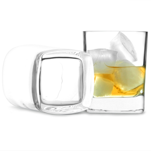 Strauss Square Base Double Old Fashioned Tumblers 10.2oz / 290ml