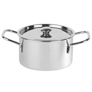 Presentation Casserole Pot with Lid 10 x 6cm