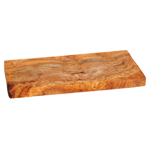 Olive Wood Rectangular Food Presentation Board 30 x 15cm
