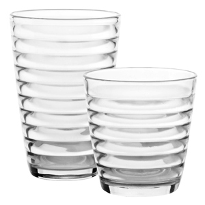 Rings 12 Piece Glassware Set