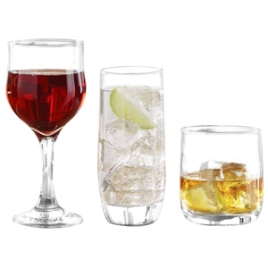 Ravenhead Tulip 12 Piece Party Glasses Set