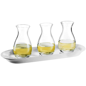 White Wine Flight Tasting Set