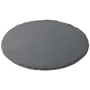 Utopia Mineral Collection Round Slate Platter 30cm