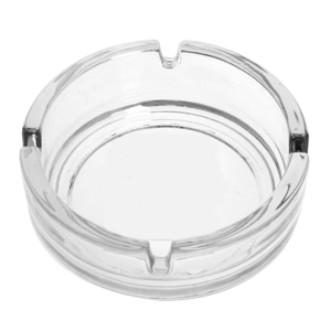 Essentials Round Glass Ashtray 10.5cm