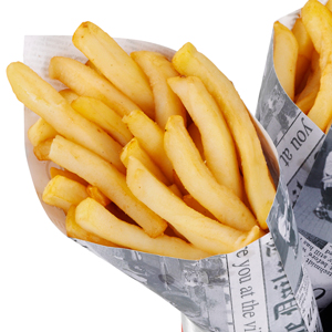 Village Fete Chip Cones