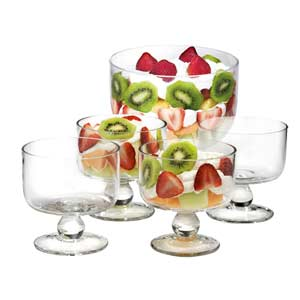 Simplicity Trifle Bowl Set