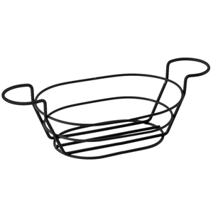 Wire Basket Oblong with Ramekin Holders