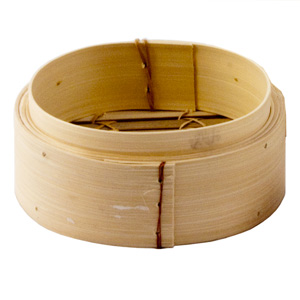 Bamboo Steamer Base Round 8inch