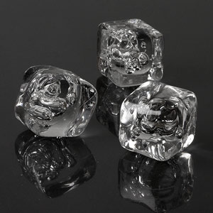 Acrylic Ice Cubes Single Pack