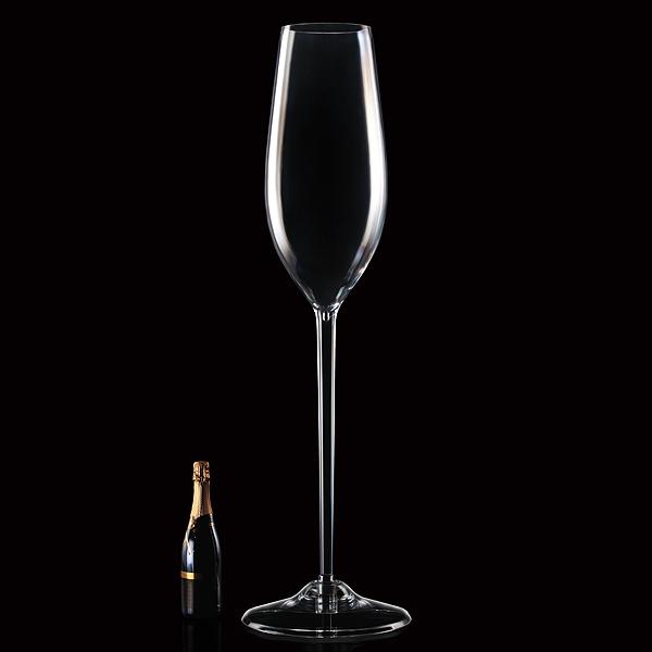 Giant Acrylic Champagne Flute 670oz 19ltr Drinkstuff