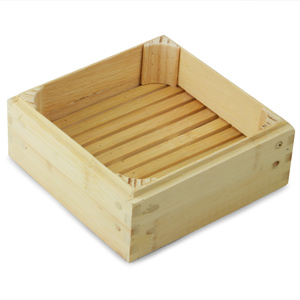 Bamboo Steamer Base Square 6inch