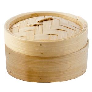 Bamboo Round Steamer 7inch