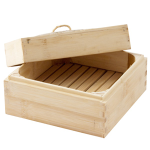 Bamboo Square Steamer 6inch