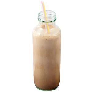 Glass Milk Bottle 16oz / 455ml