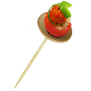 Thani Bamboo Mini Dishes with Skewers
