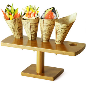Cone and Temaki Display 9.2inch