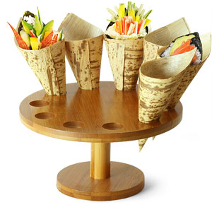 Cone and Temaki Display 7inch