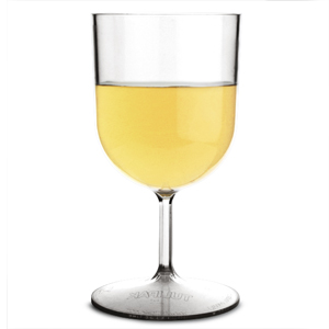 Reusable PET Plastic Wine Glasses 7.4oz / 210ml