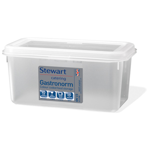 Stewart Gastronorm Food Storer 1/3 One Third Size 150mm Deep
