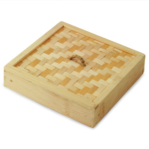 Bamboo Steamer Lid Square 6inch