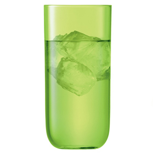 LSA Centro Highball Glasses Lime 17.25oz / 490ml