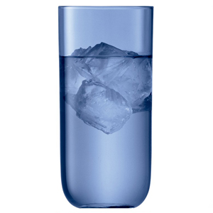 LSA Centro Highball Glasses Sapphire 17.25oz / 490ml