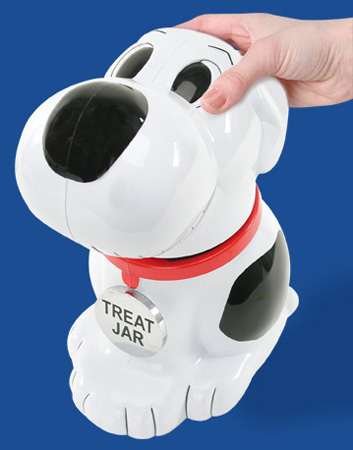 Singing Dog Treat Jar