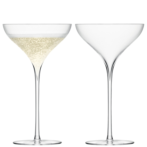 lsa savoy champagne saucers 250ml champagne. Black Bedroom Furniture Sets. Home Design Ideas