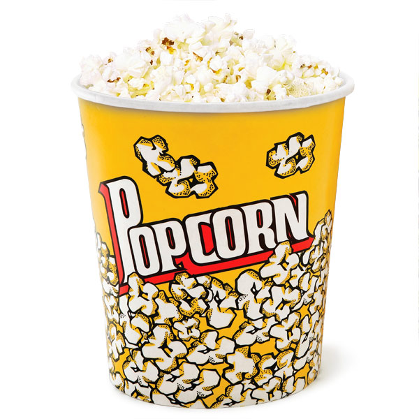 Popcorn Cups Giant 130oz | Popcorn Box Popcorn Serving ...