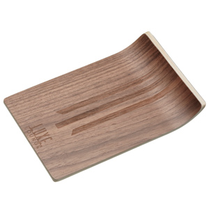 Luxe Lounge Walnut Veneer Bar & Canape Tray