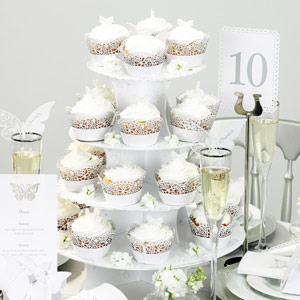 Something in the Air 4 Tier Cake Stand