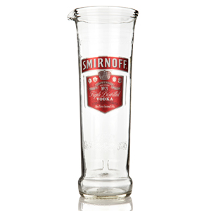Recycled Smirnoff Vodka Bottle Jug 24.6oz / 700ml