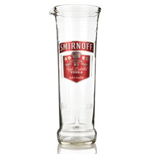 Recycled Smirnoff Vodka Bottle Jug 24.6oz / 700ml