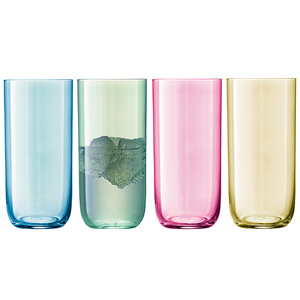 LSA Polka Highball Glasses 17.2oz / 490ml