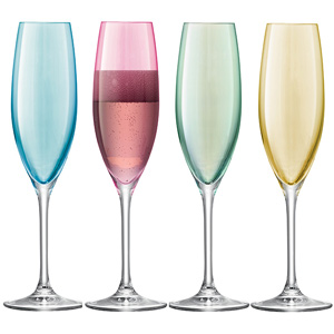 LSA Polka Champagne Flutes 7.9oz / 225ml