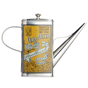 Italian Collection Stainless Steel Oil Can Drizzler