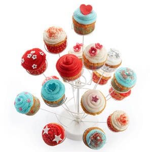 Sweetly Does It Spiral Cupcake Tree