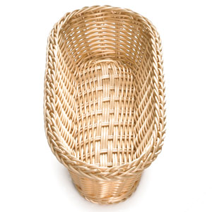 Ridal Oblong Basket Natural 15 x 6.5 x 3.25inch