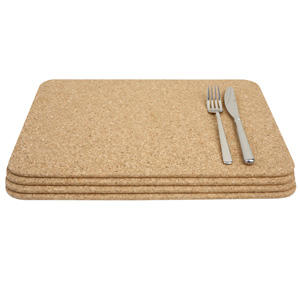 Cork Rectangular Table Mats 40 x 30cm