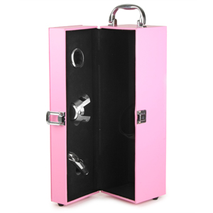 Just Add Wine Pink Champagne Gift Case with Accessories