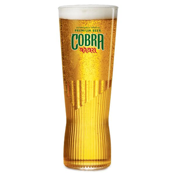Cobra Beer Pint Glasses