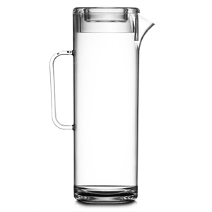 Elite Polycarbonate Tall Jug with Lid 60oz / 1.7ltr
