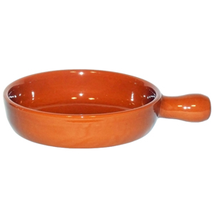 Emilio Terracotta Deep Pan Brown 17cm