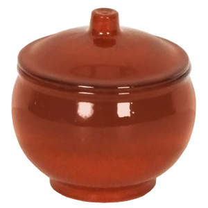 Emilio Terracotta Soup Pot Brown