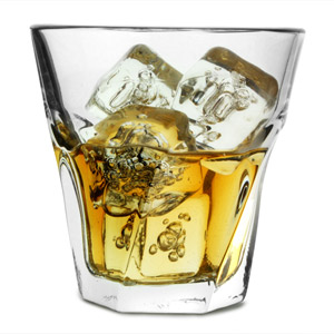 Gibraltar Twist Rocks Glasses 9oz / 260ml