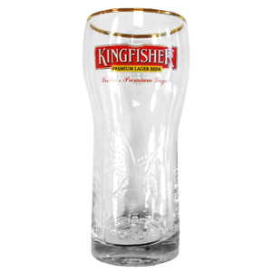 Kingfisher Pint Glasses 23oz LCE at 20oz