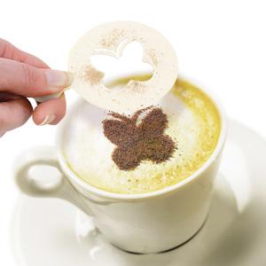 Coffee Stencils Gift Tin