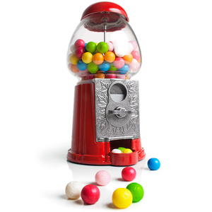 Metal Gumball Machine Small