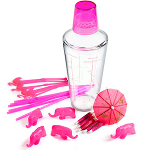 Pink Party Cocktail Shaker